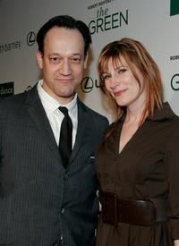 Ted Raimi and Suzanne Keilly at the Sundance Channel's launch of