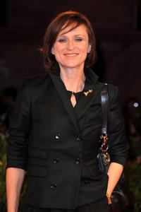 Sophie Rois at the Italy premiere of