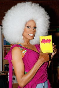RuPaul at the signing of