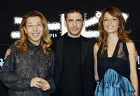 Shogo Kariyazaki, Leonardo Sbaraglia and Japanese talent Rika at the presentation of