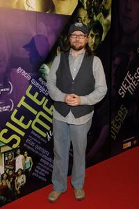Santiago Segura at the premiere of