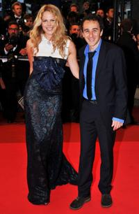 Elie Semoun and Guest at the premiere