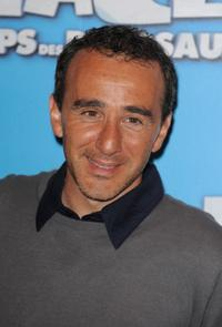 Elie Semoun at the Paris premiere of