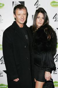 John Simm and Kate Magowan at the Live Final of the UK Music Hall Of Fame 2005.