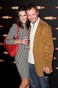 John Simm and Kate McGowan at the gala screening of