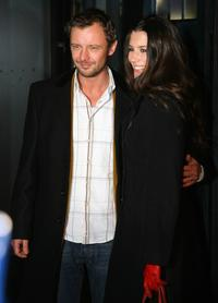 John Simm and guest at the gala screening of