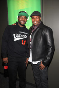 Craig Wayans and Chris Spencer at the premiere of