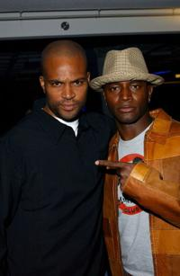 Chris Spencer and Taye Diggs at the Jordan Presents LOVE: In Concert.