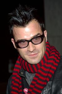 Justin Theroux at the New York premiere of
