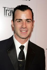 Justin Theroux at the Conde Nast Traveler Readers Choice Awards.