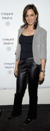 Polly Draper at the benefit for the Vineyard Theater.