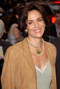 Polly Draper at the opening night of