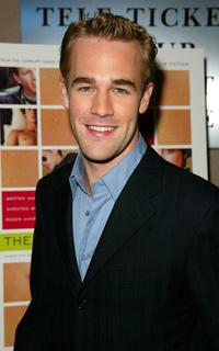 James Van Der Beek at the New York screening of