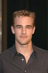 James Van Der Beek at the WB Network's 2002 Summer party.