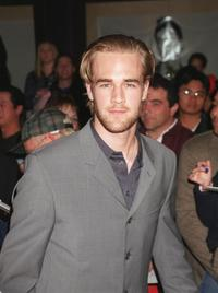 James Van Der Beek at the WB Network's 2001 All-Star party.