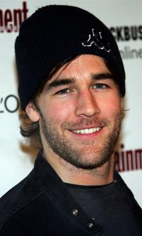 James Van Der Beek at the Sundance Film Festival.
