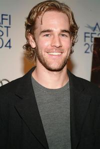 James Van Der Beek at the Hollywood premiere of