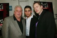 Vinny Vella, Vinny Vella Jr. and Steve Buscemi at the premiere of