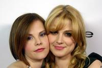 Kiersten Warren and Alexandra Breckenridge at the Bebe Spring Ad Campaign Announcement.