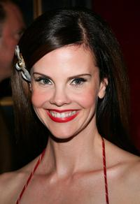 Kiersten Warren at the New York premiere of