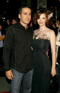 Kirk Acevedo and Kiersten Warren at the Hollywood premiere of