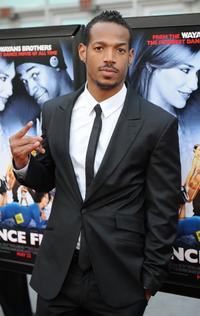 Shawn Wayans at the premiere of