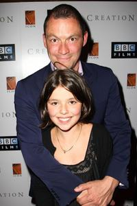 Dominic West and Martha West at the UK premiere of