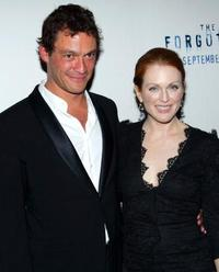 Dominic West and Julianne Moore at the world premiere of
