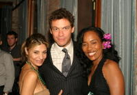 Callie Thorne, Dominic West and Sonja Sohn at the after party of the premiere of