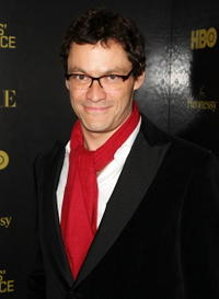 Dominic West at the Men's Vogue Critics Choice celebration for