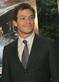 Dominic West at the premiere of