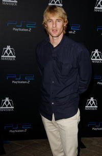 Owen Wilson at the Playstation 2 Party in Beverly Hills.