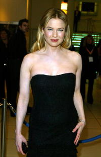 Renee Zellweger at the 'The Orange British Academy Film Awards' in London.