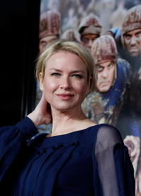 Actress Renee Zellweger at the Hollywood premiere of