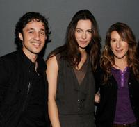 Thomas Ian Nicholas, Rebecca Hall and Nicole Holofcener at the Meet the Filmmaker: