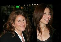 Nicole Holofcener and Catherine Keener at the premiere of