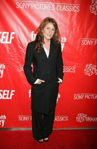 Nicole Holofcener at the premiere of