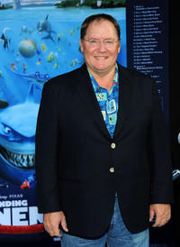 Executive producer John Lasseter at the California premiere of