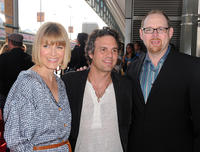 Sunrise Coigney, Mark Ruffalo and Jeffrey Levy-Hinte at the premiere of