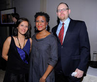 Joana Vicente, Michelle Byrd and Jeffrey Levy-Hinte at the IFP's 19th Annual Gotham Independent Film Awards.