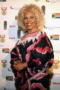 Ja'net DuBois at the 14th Annual Pan African Film Fest.