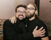 Kevin Smith and Scott Mosier at the after party of the premiere of
