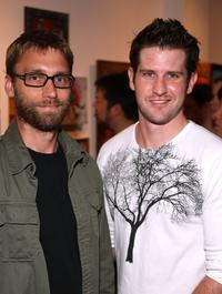 Scott Mosier and Director Richard Kelly at the opening night of