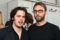Edgar Wright and Scott Mosier at the opening night of