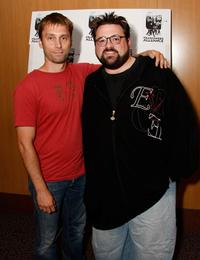 Scott Mosier and director Kevin Smith at the Filmmakers Alliance Visionfest 2008.