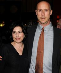 Sue Kroll and Gavin O'Connor at the after party of the New York premiere of