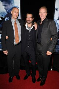 Gavin O'Connor, Colin Farrell and Noah Emmerich at the New York premiere of