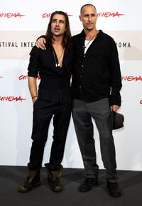 Colin Farrell and Gavin O'Connor at the photocall of