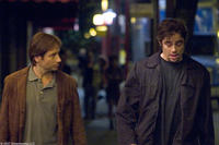 David Duchovny and Benicio Del Toro in