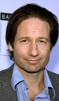 David Duchovny at the 12th Annual BAFTA/LA tea party.